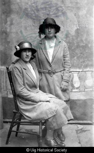 Angusina Macdonald and Annie Matheson