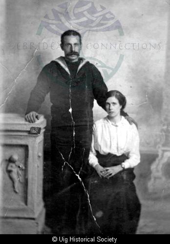 Ann Macdonald and husband