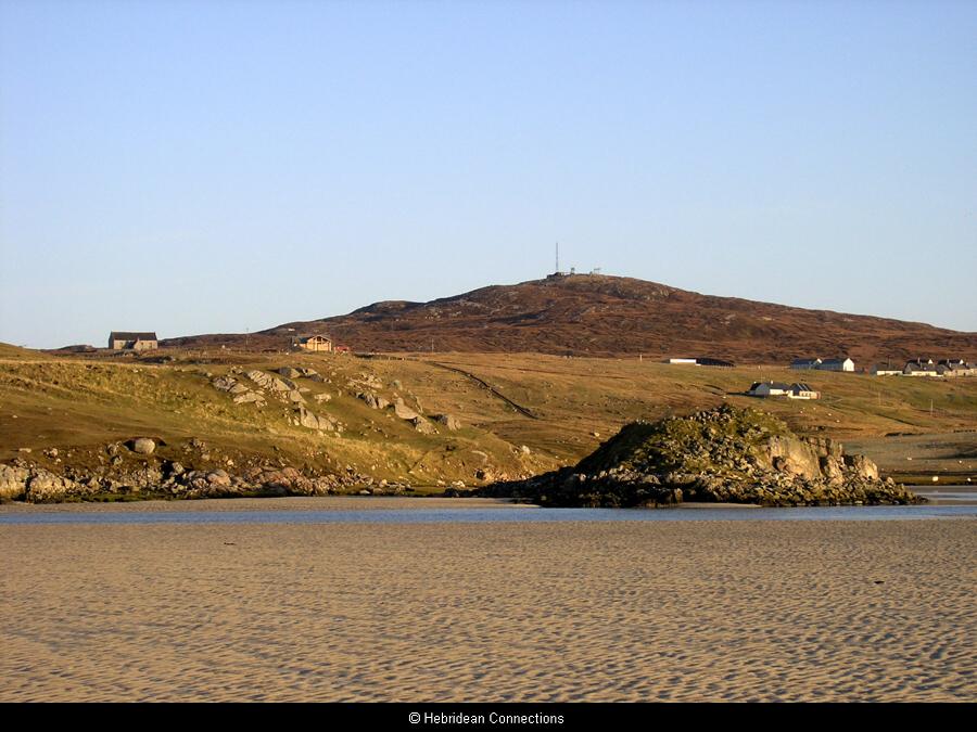 Dun Boranais from the sands