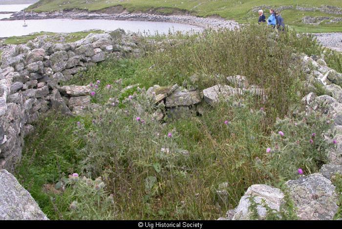Ruined Kelp(?) Kiln at Vuia Mhor