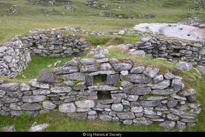 Ruins at Vuia Mhor