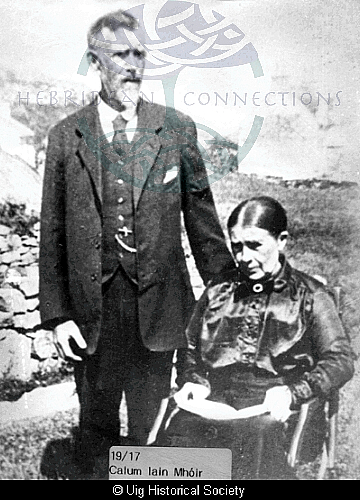 Malcolm Matheson and his wife Mary Macleod