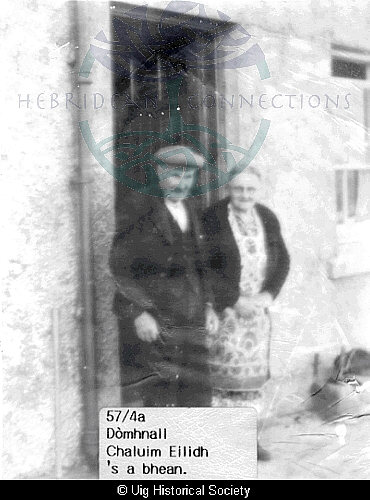 Donald Mackay and his wife Catherine Maclennan