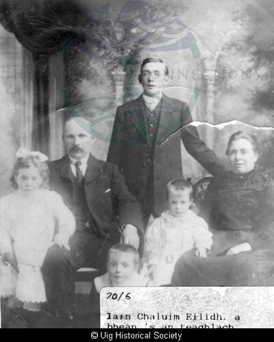 John Mackay and family