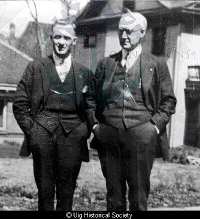 Norman Maclennan and Donald Maclennan Valtos