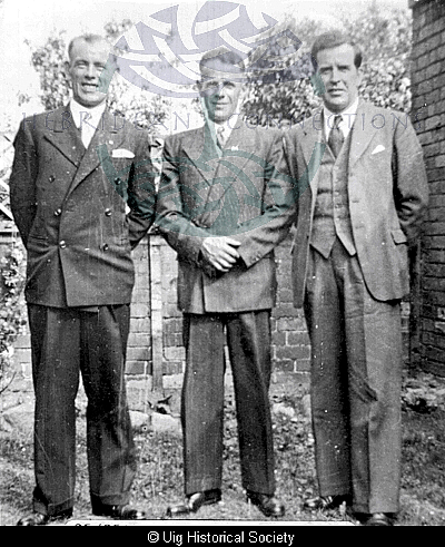 John, Malcolm and Kenneth Smith