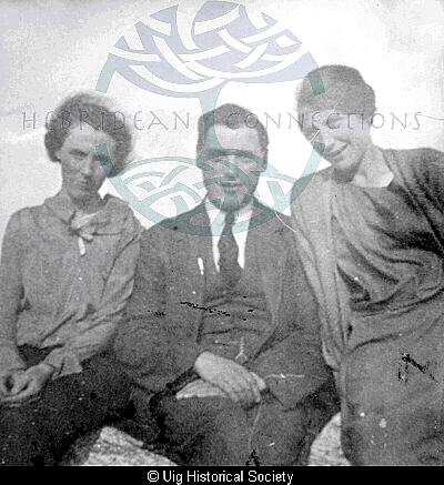 Bella Campbell, Alasdair Maciver and Mary Barbara Maciver