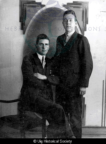 Norman Gillies and Kenneth Smith