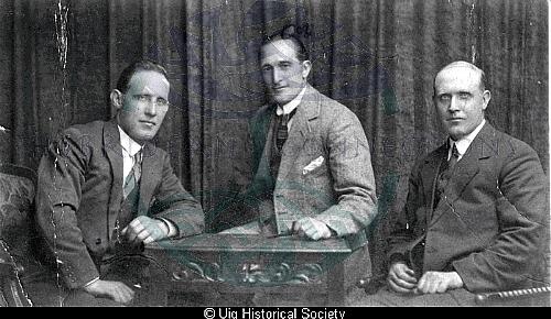 Kenneth, Hugh and John Mackay