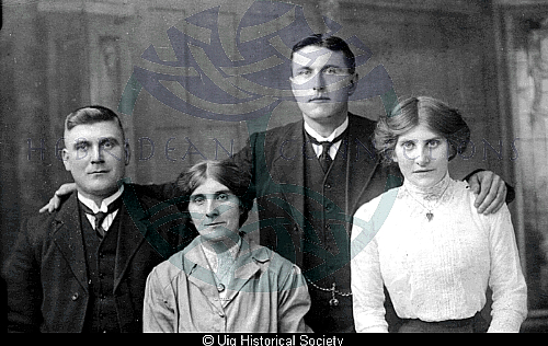 John Smith with family and friends