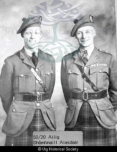 Alec Maclennan and his son Donald