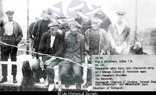 A group of Valtos men