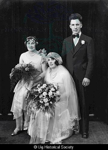 Peggy Maclean, Annie Morrison and John Maclean