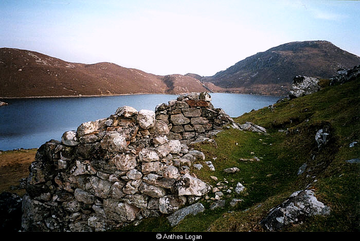 Bothy overlooking Loch Trialavat